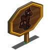 Banker Foal Mastery Sign-icon