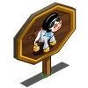 Hustlin Cow Mastery Sign-icon
