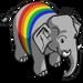 Rainbow Elephant-icon