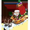 Santa's Sleigh-icon