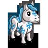 Snowflake Mini Horse-icon
