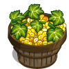 Freckled White Grape Bushel-icon