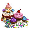 Giant Cupcake Tree-icon