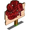 Red Spinach Mastery Sign-icon