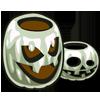 White Jack-O'-Lantern-icon