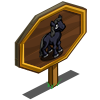 Bewitched Black Mare Foal Mastery Sign-icon