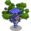 Blue Tree House-icon