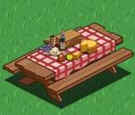 Country picnic table