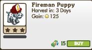 Fireman Puppy Market Info