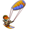 Kite Surfer Duck-icon