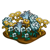 Metal Flower Patch-icon