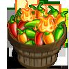 Flaming Chilli Bushel-icon