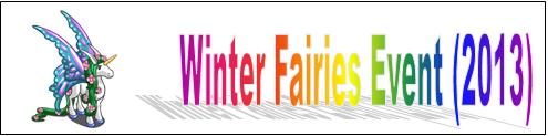 Winter Fairies Event (2013) Event Banner