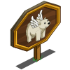 Flying Dream Bear Mastery Sign-icon