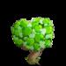 Green Hearts Tree-icon