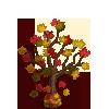 Falling Leaves Tree-icon