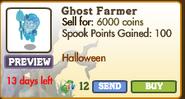 Ghost Farmer Market Info (September 2012)