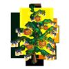 Pumpkin Vine Tree-icon