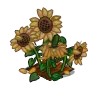 Wither Bunch Sunflower-icon