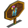 4th Birthday Unicorn Mastery Sign-icon