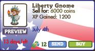 Liberty Gnome Market Info (June 2012)