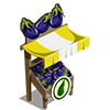 Organic Eggplant Stall-icon