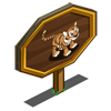 Siberian Tiger Cub Mastery Sign-icon