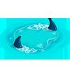 Circling Sharks-icon