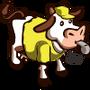 Yellow Referee Cow-icon