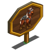 Backpacker Foal Mastery Sign-icon