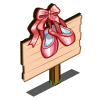 Ballerina Slippers Mastery Sign-icon