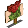 Red Tulip Mastery Sign-icon