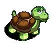 Einsame Schildkröte
