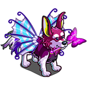Fairy Wings Dog-icon