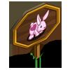 Heart Rabbit Mastery Sign-icon