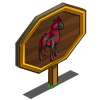Anti-Valentine Horse Mastery Sign-icon