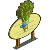 Asparagus Tree Mastery Sign-icon