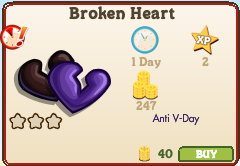 Broken Heart Market Info