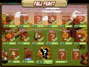 Fall Festival Day 14