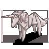 Origami Unicorn-icon
