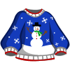 Snowman Sweater-icon