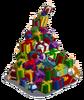 Winter gift mountain-icon