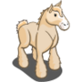 Cream Draft Horse-icon