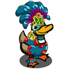 Mayan Dancer Duck-icon