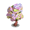 Painted Flower Tree-icon