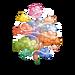 Rainbow Mystic Cloud Tree-icon