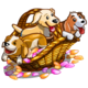 Summer Petals Puppies-icon