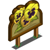 Yellow Pansy Mastery Sign-icon