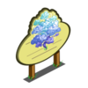 Blue Mystic Cloud Tree Mastery Sign-icon