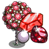 Giant Red Gem Tree-icon